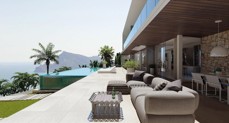 Nieuwbouw luxe villa in Altea Hills