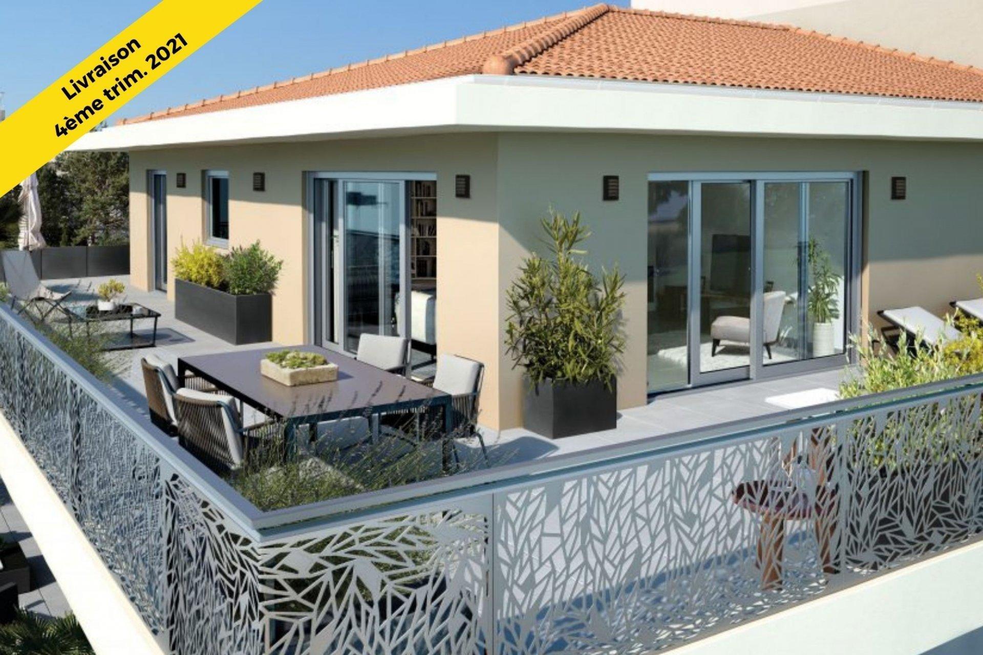 4 Pièces dernier étage - Palm Riviera -