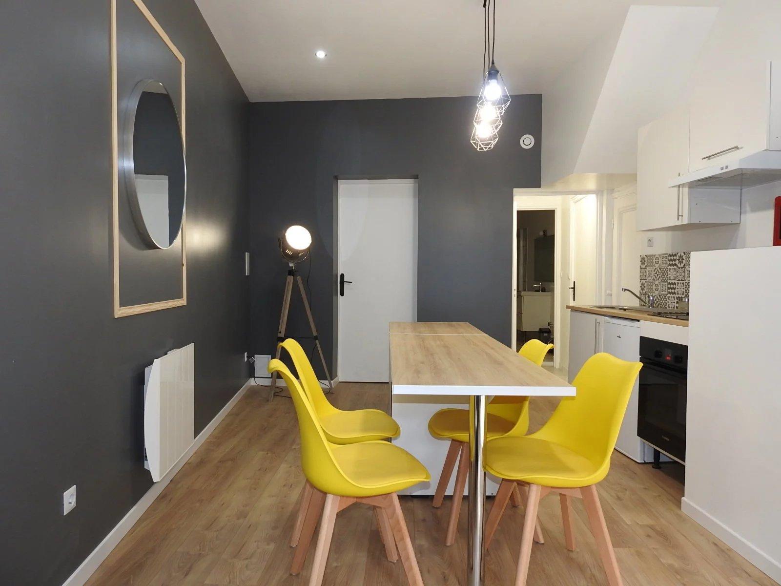 Appartement F2 Meublé au rdc