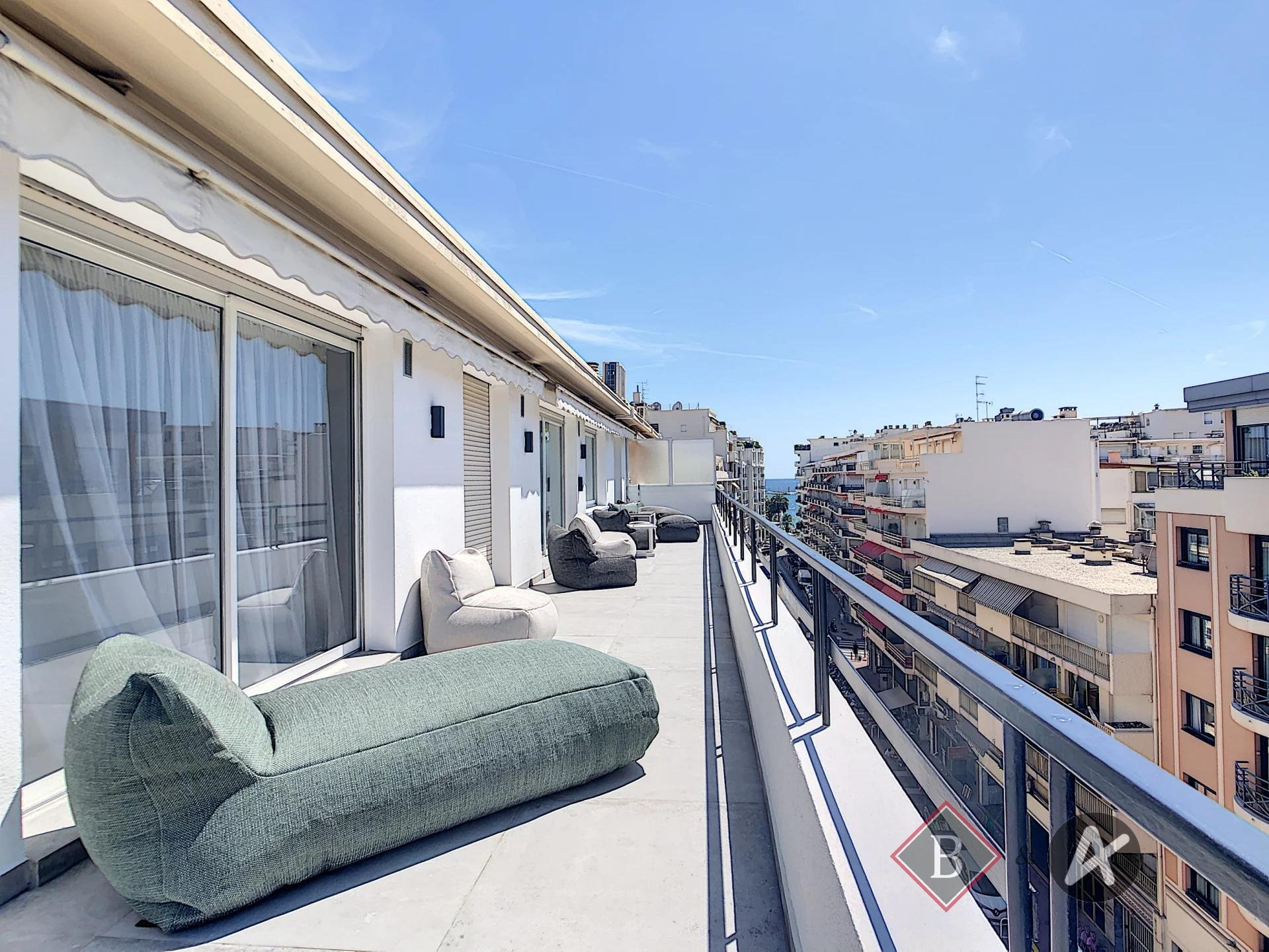 Cannes - Banane , Appartement dernier étage