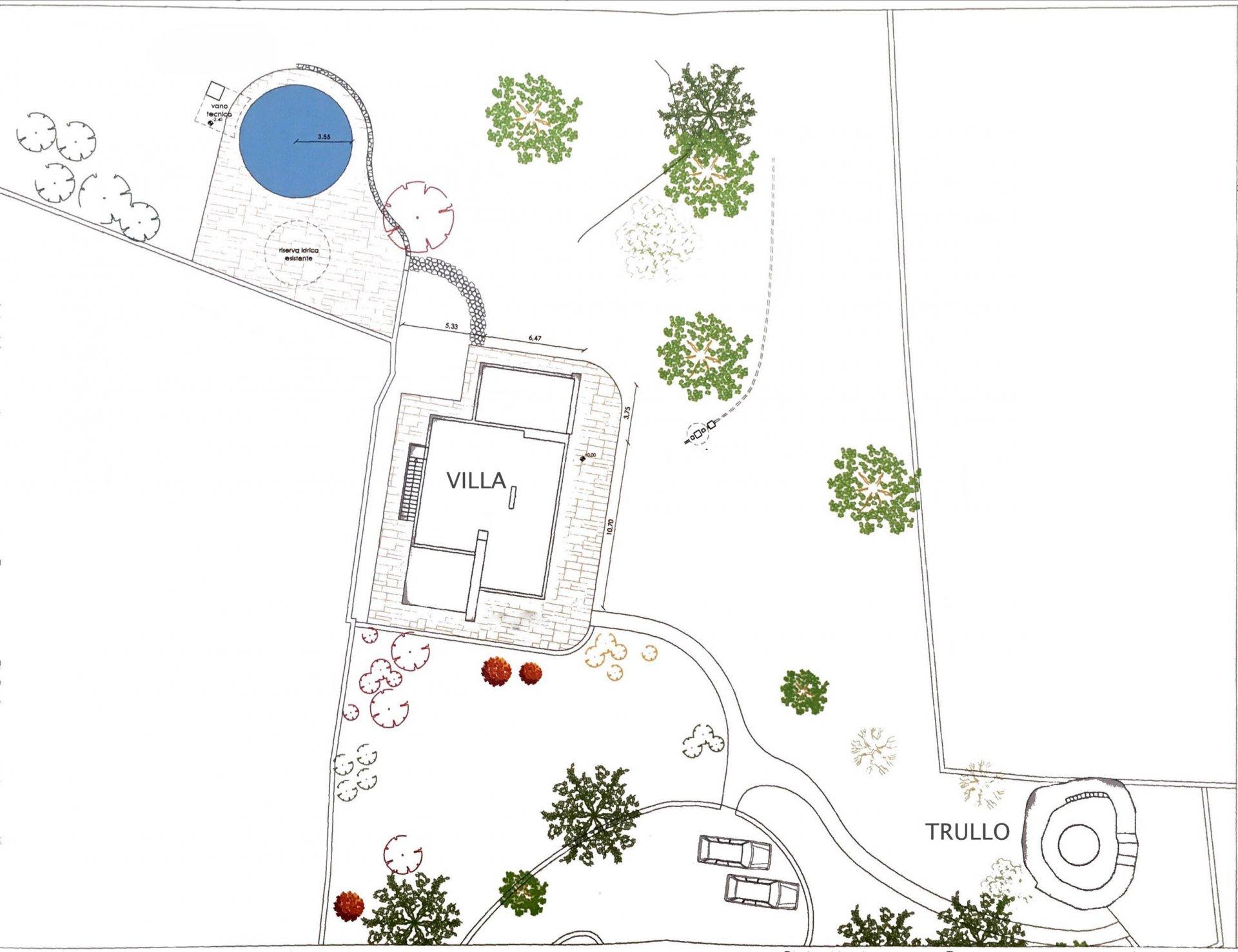 Villa à Ostuni avec trullo et piscine privée