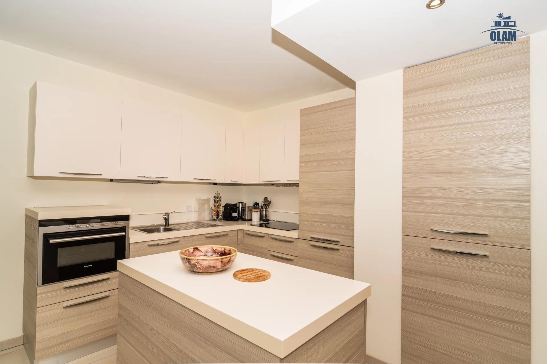 4 rooms modern residence near the centre of Cannes - kitchen