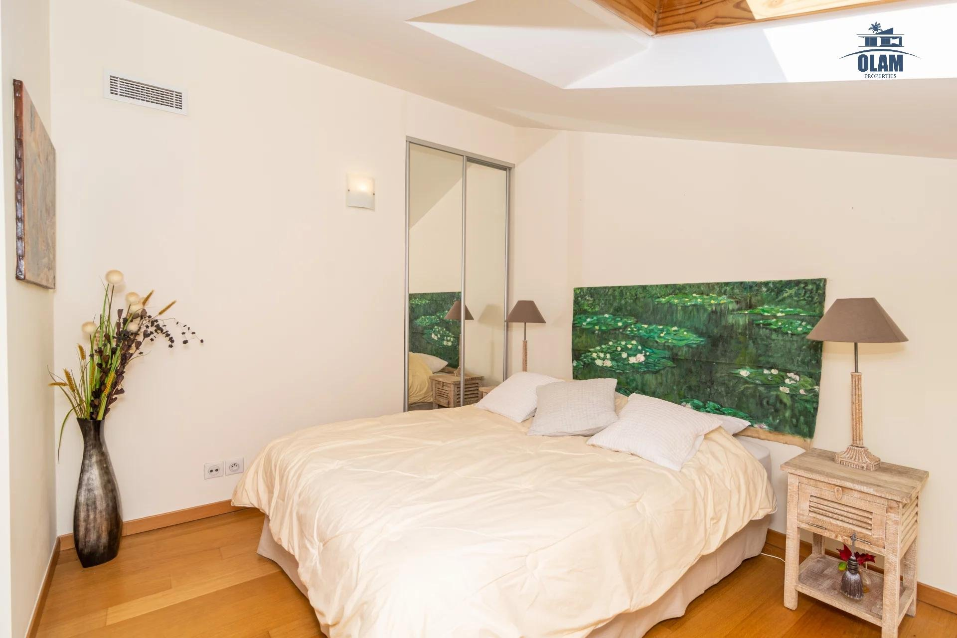 4 rooms modern residence near the centre of Cannes - bedroom