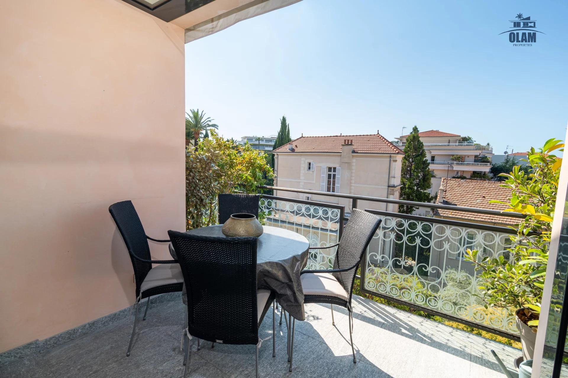 4 rooms modern residence near the centre of Cannes - terrace