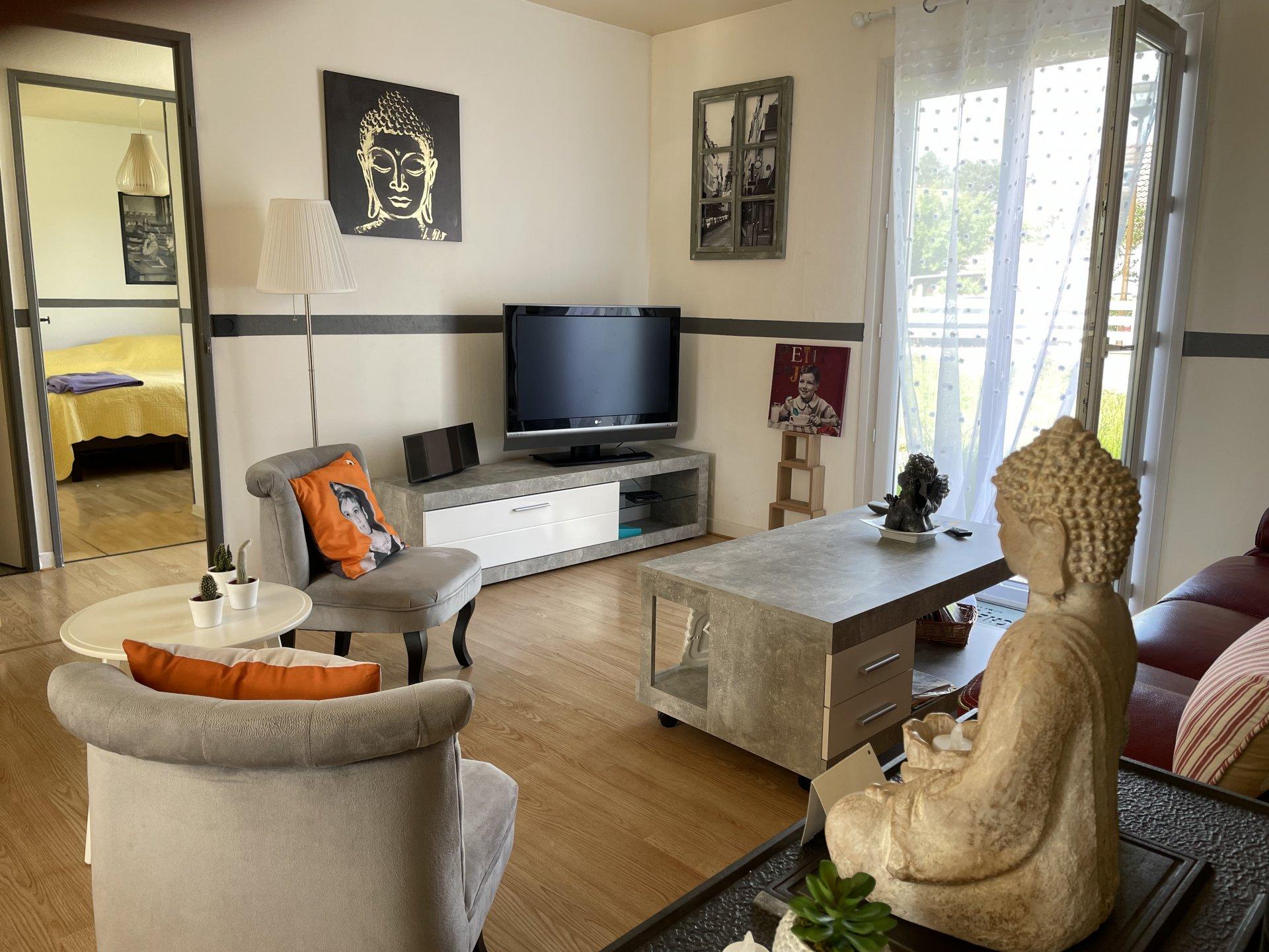 Maison de plain pied, 92 m², 3 chambres, terrain 653 m²