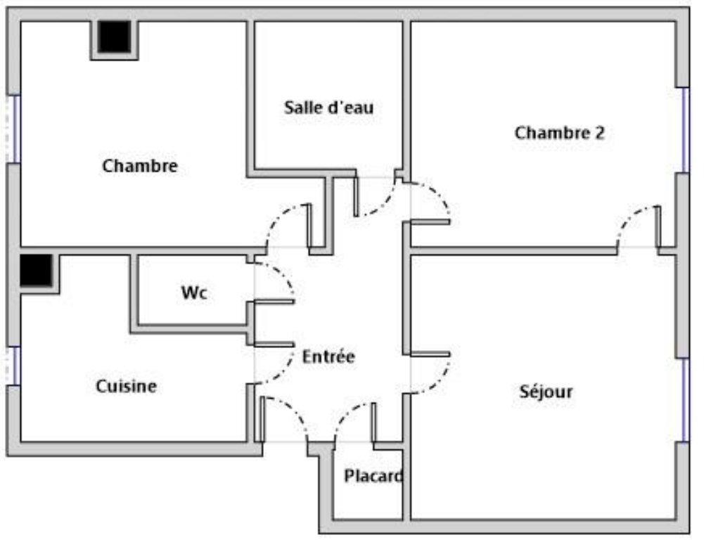 Appartement 3 pièces ASNIERES-MAIRIE