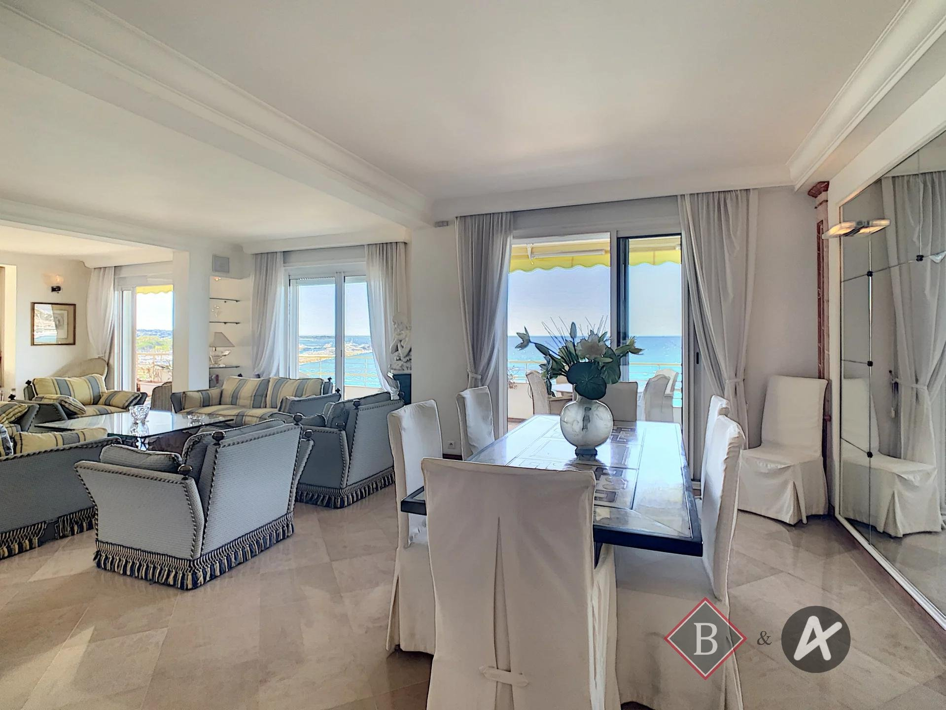 Cannes - Croisette - Spacieux 6P - Vue féerique