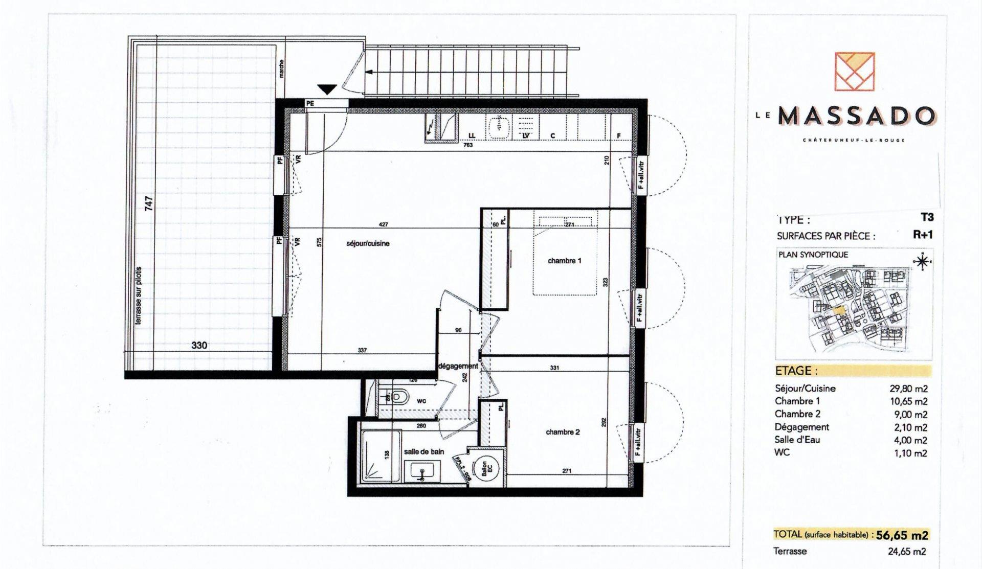 Sale Apartment - Châteauneuf-le-Rouge
