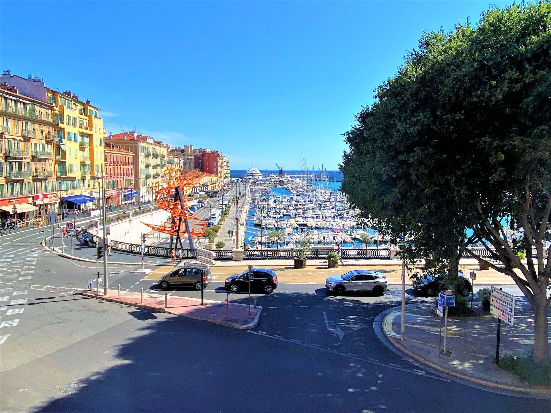 PORT de Nice, STUDIO face au port
