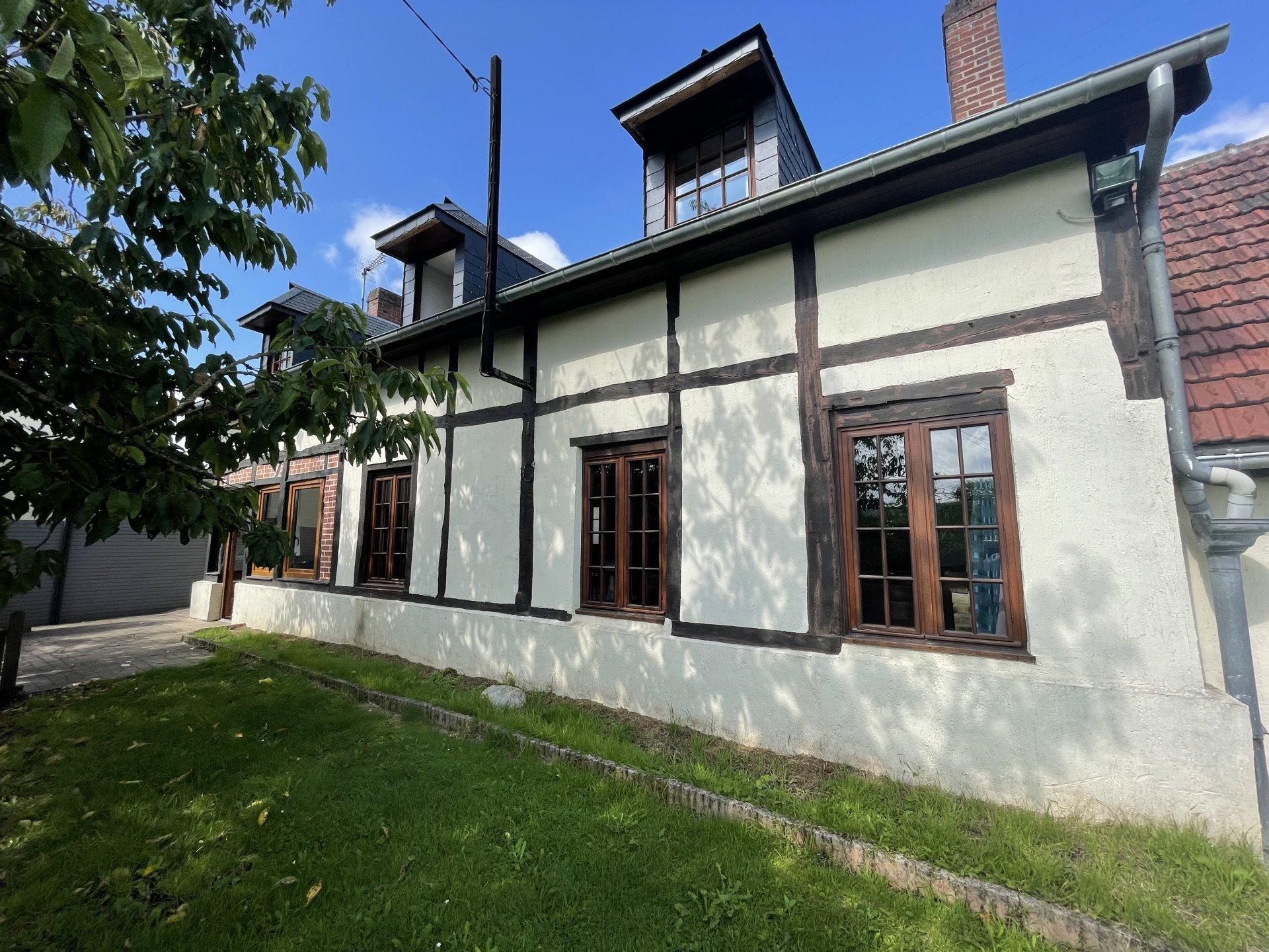 Belle maison traditionnelle dans la vallée de l'Andelle.
