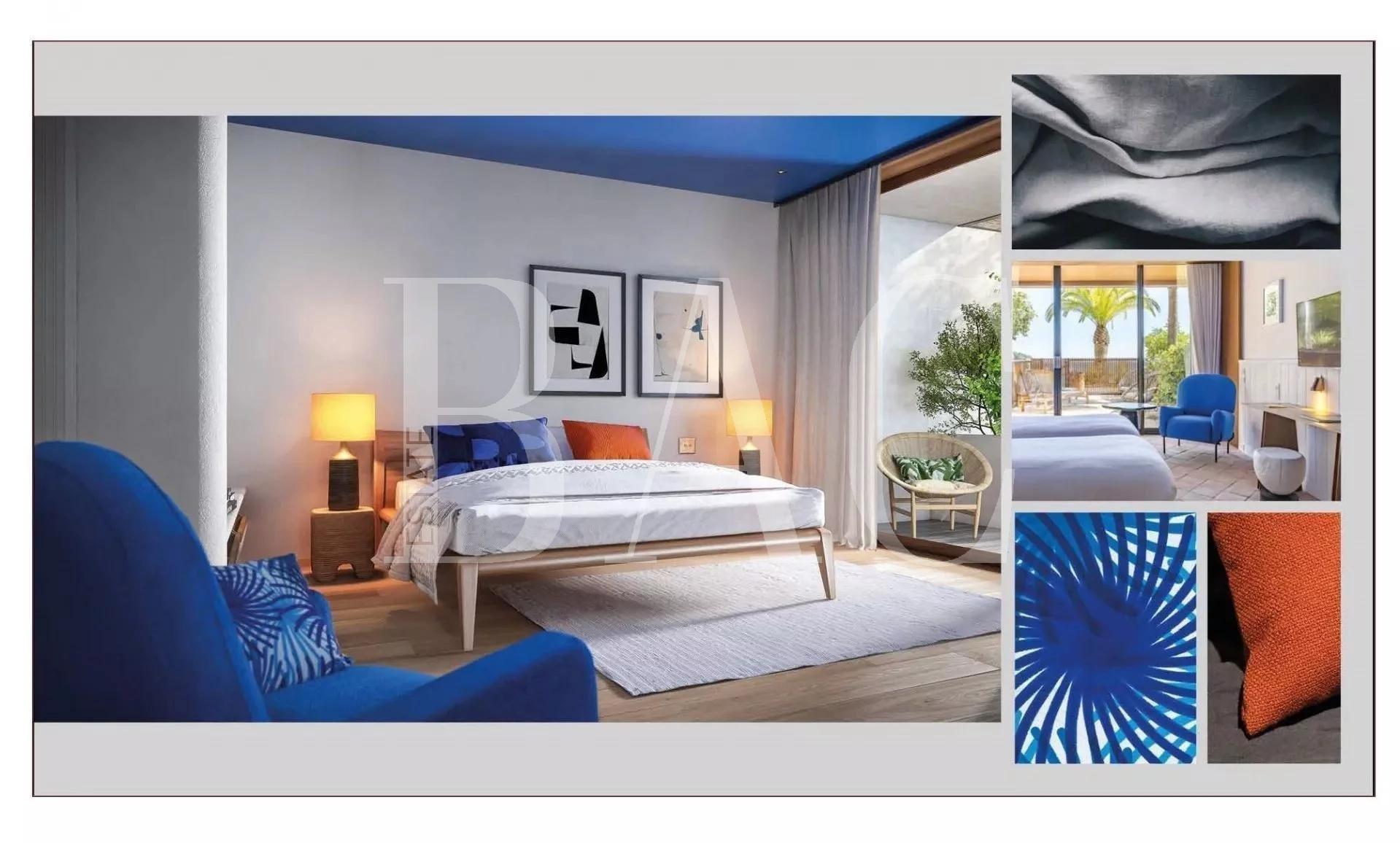 Двухуровневая квартира в Монако.