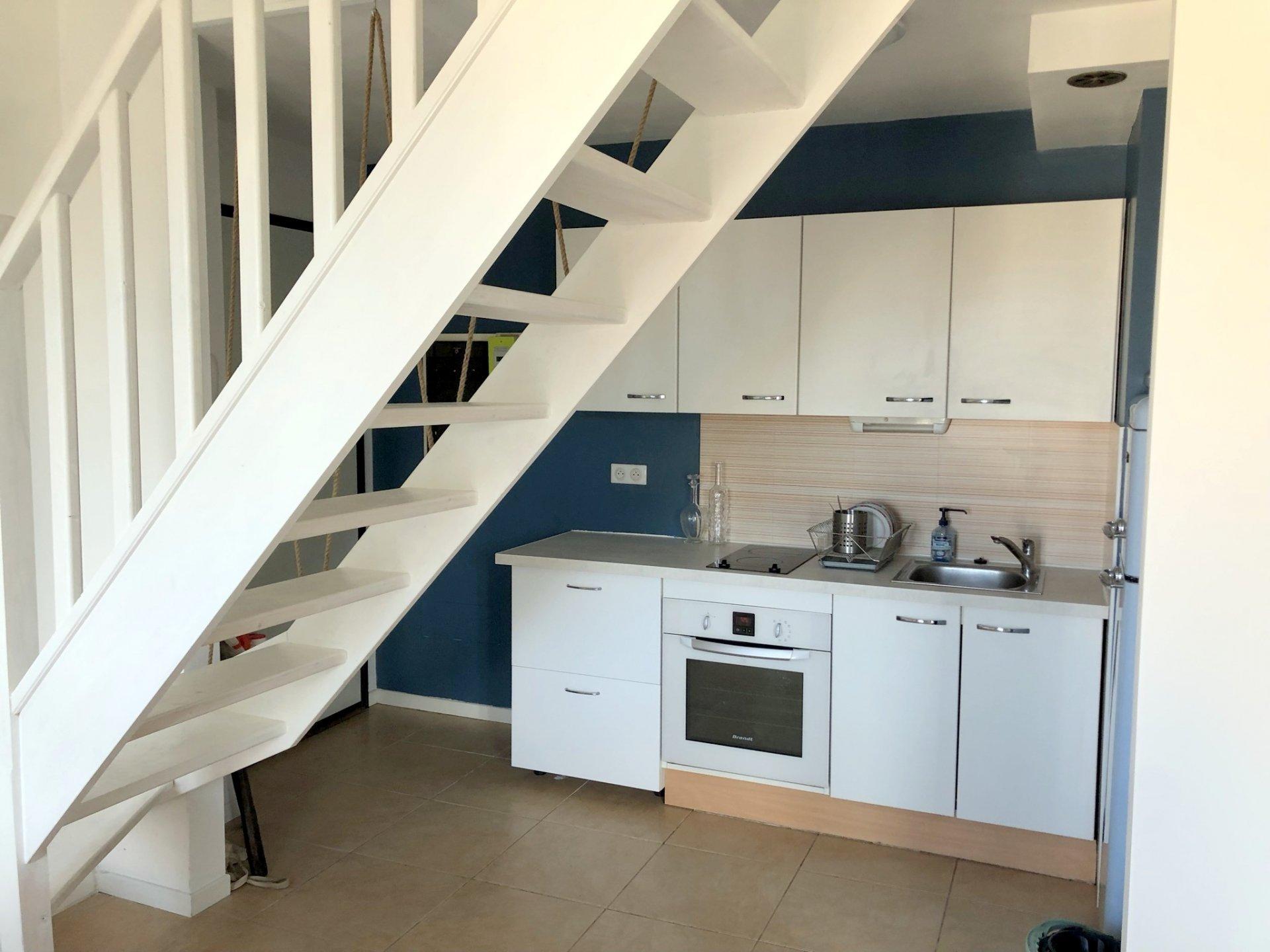 Location Nice, 2 pièces meublé en duplex de 38.21m² secteur Port