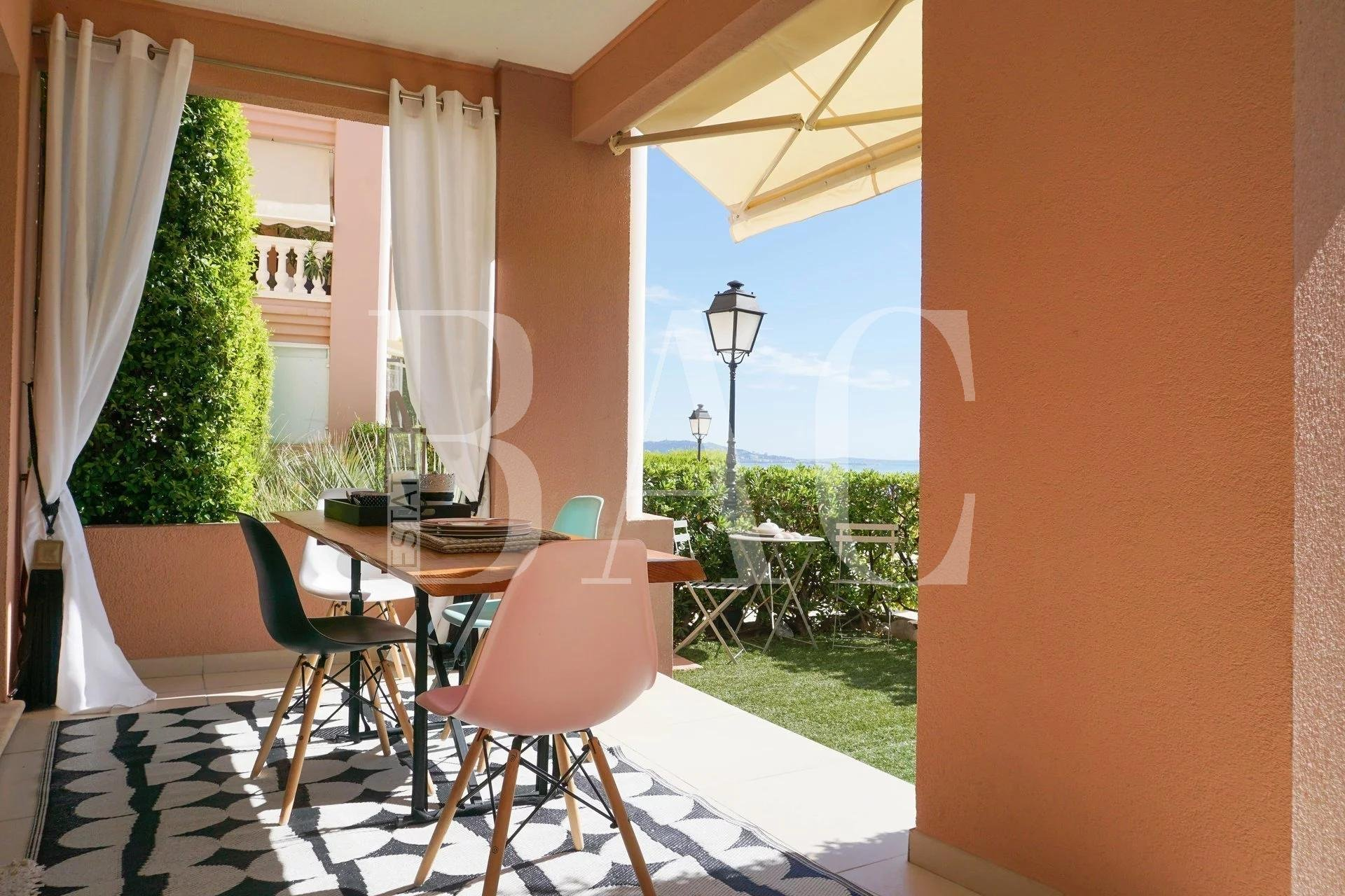 Théoule-sur-Mer, very nice apartment with sea view