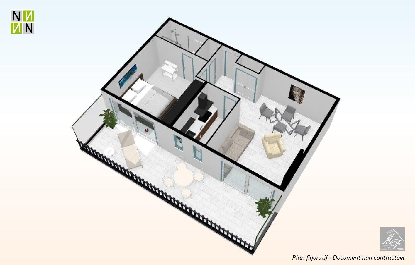 Vendita Appartamento - Cannes Petit Juas