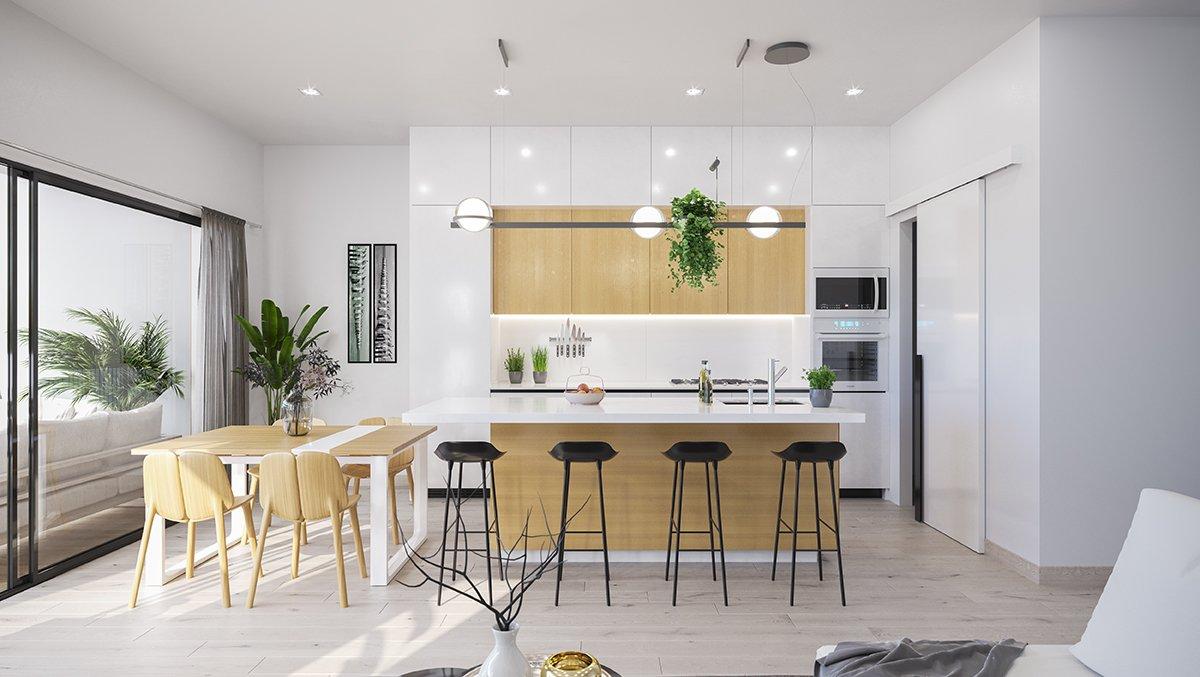 Nieuwe moderne villa in grote residentie
