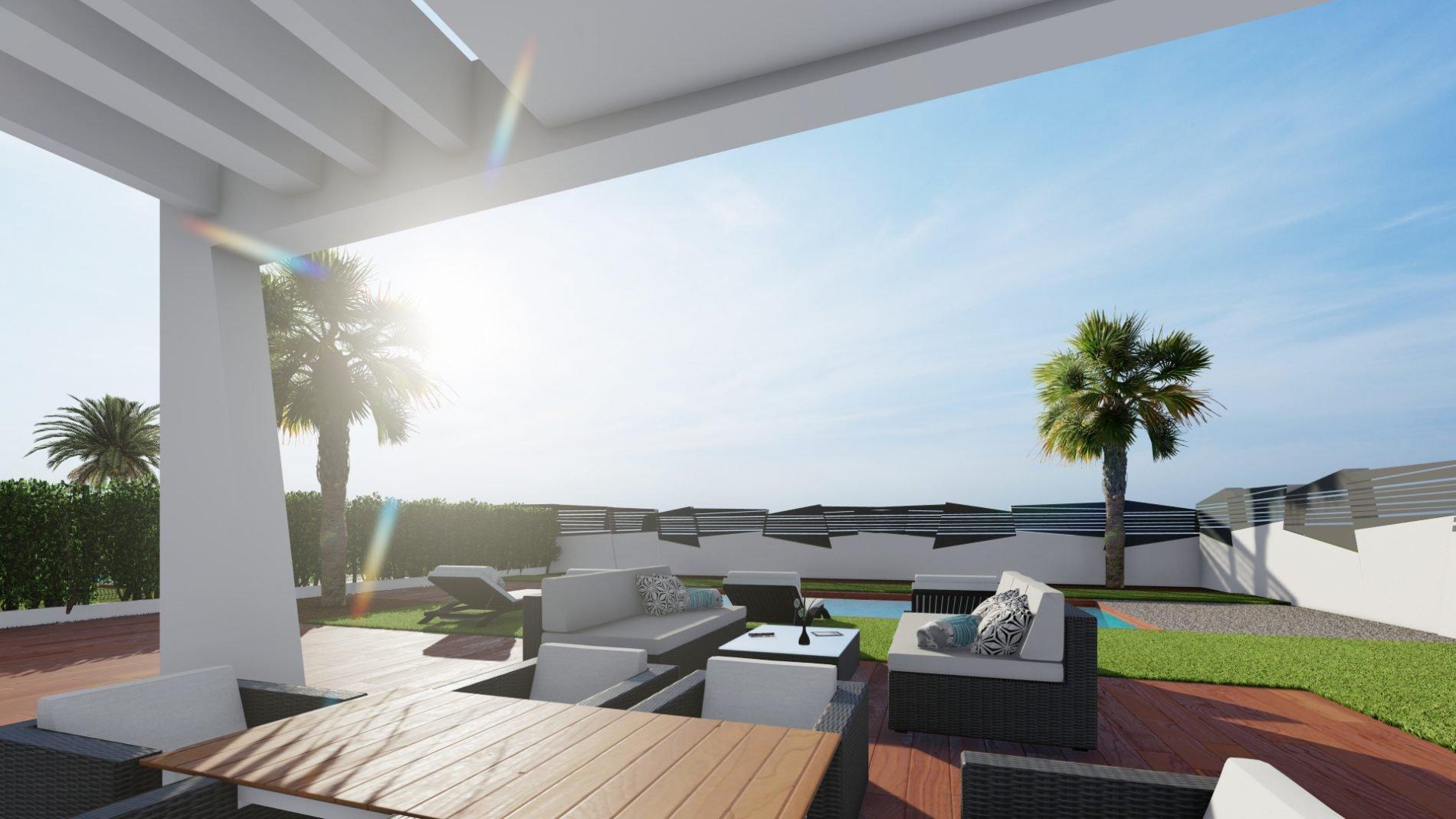 Nieuwe moderne villa in Finestrat