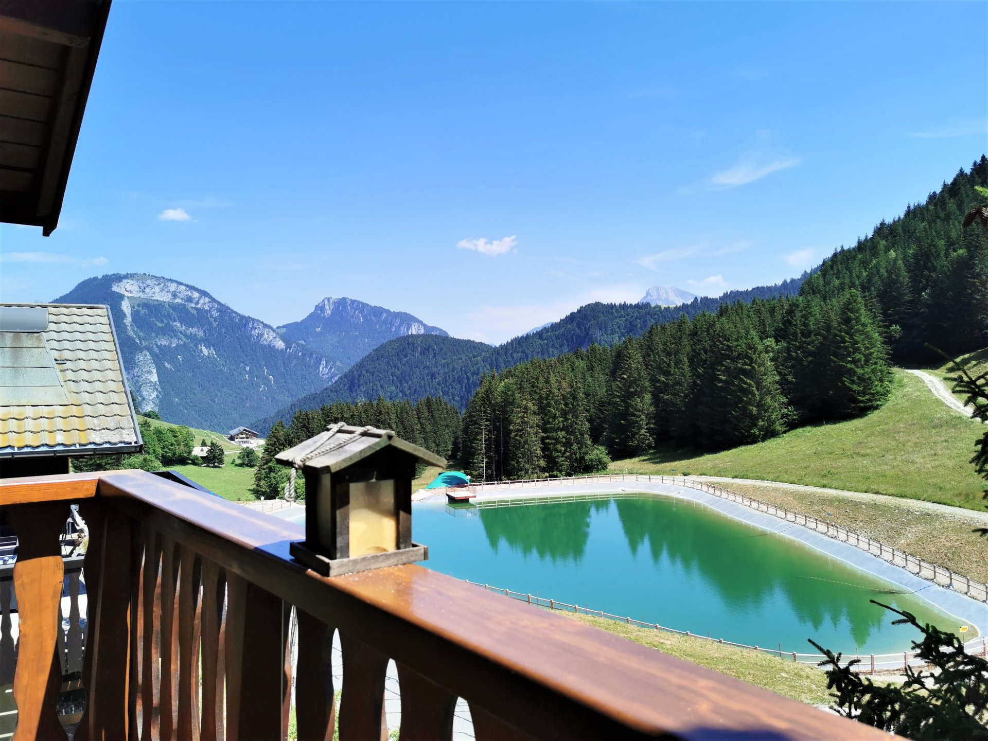 CHALET - MOUNTAIN VIEW Accommodation in Le Biot