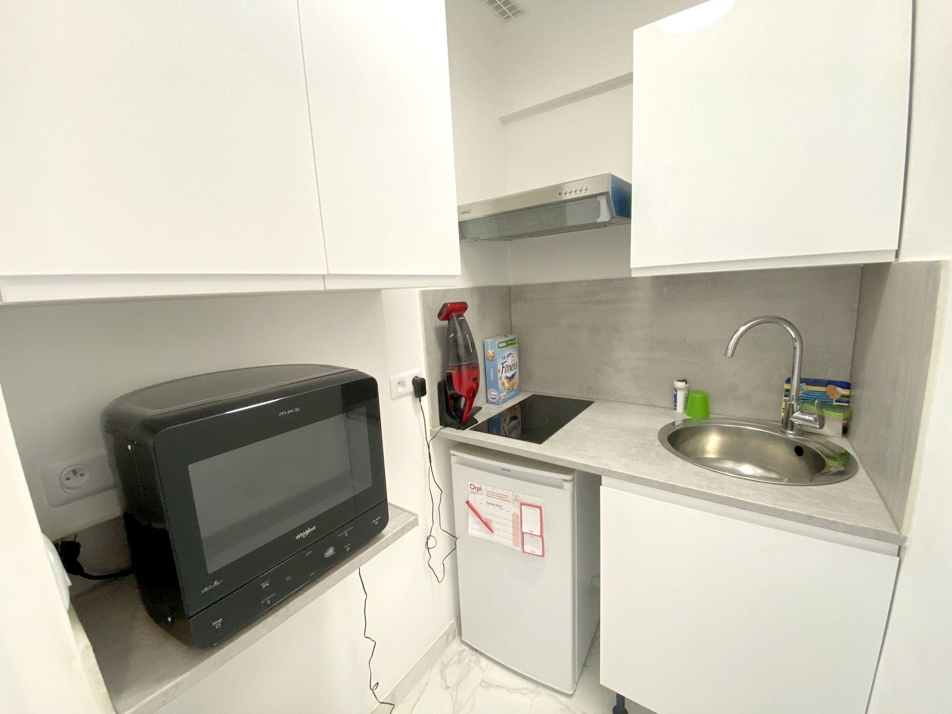 CANNES FOR SALE RENOVATED STUDIO NEAR CITY CENTRE