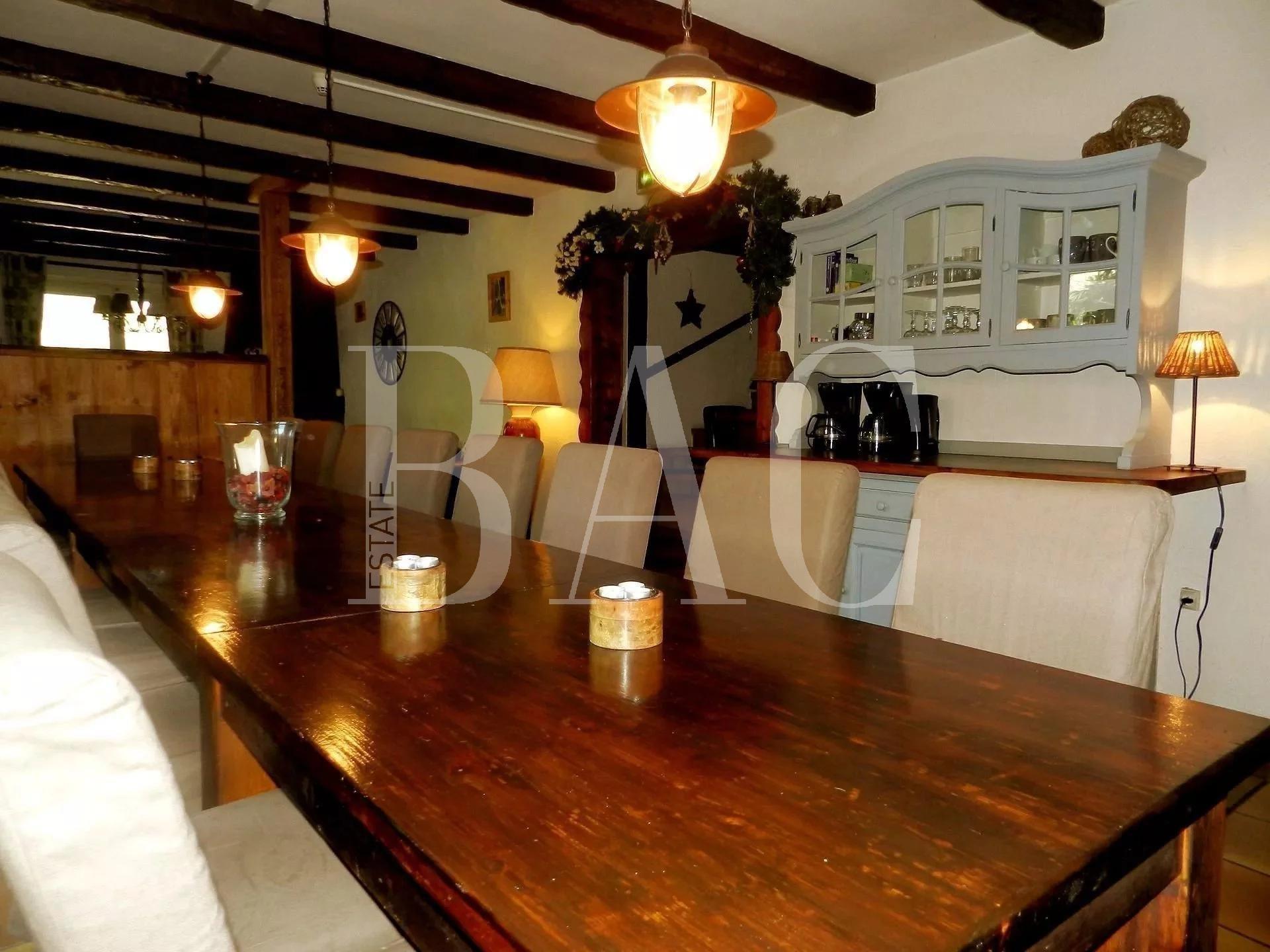 尼斯传统小木屋距离MORZINE中心6分钟路程