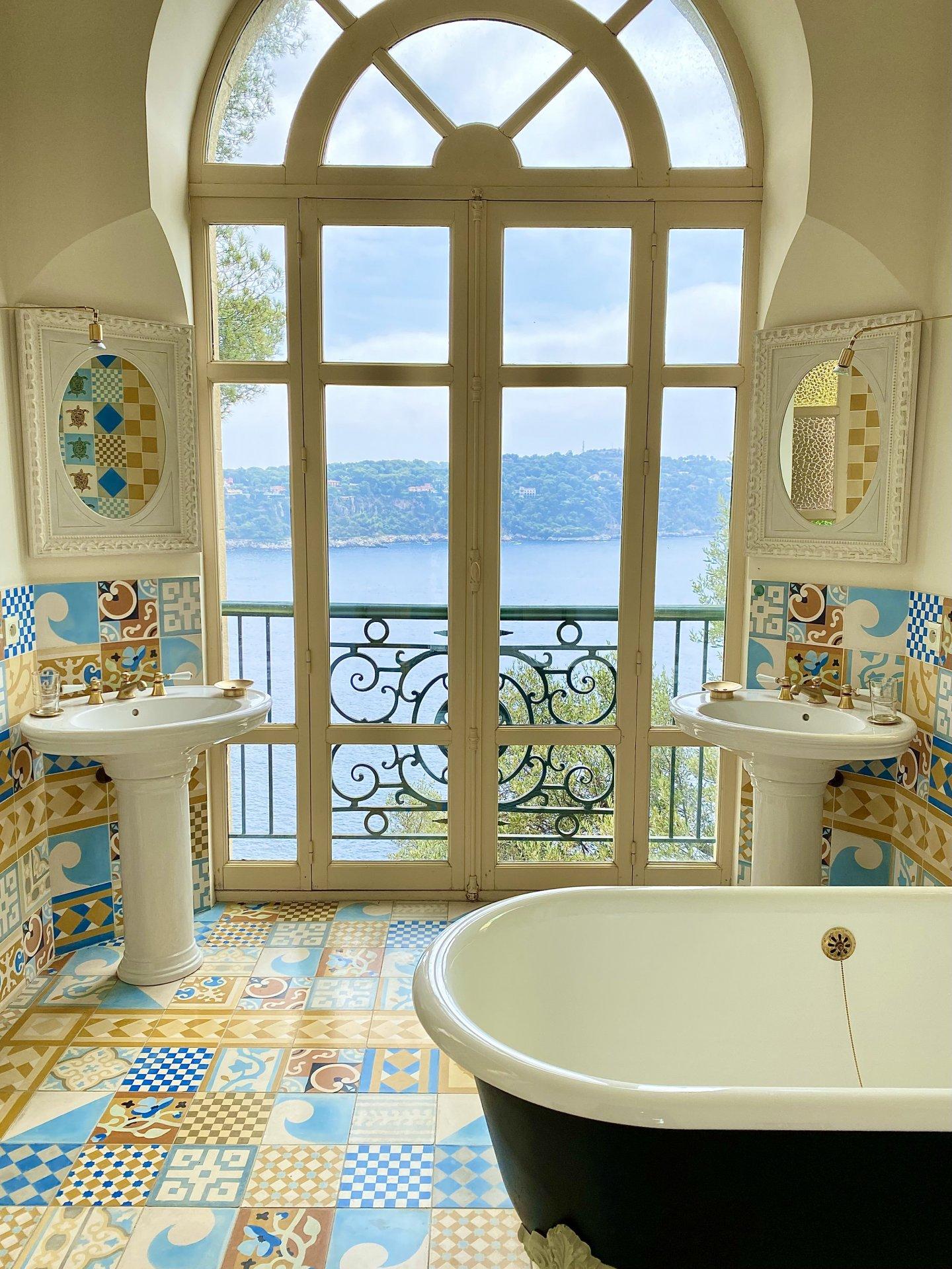 Villa baie de Villefranche-sur-mer