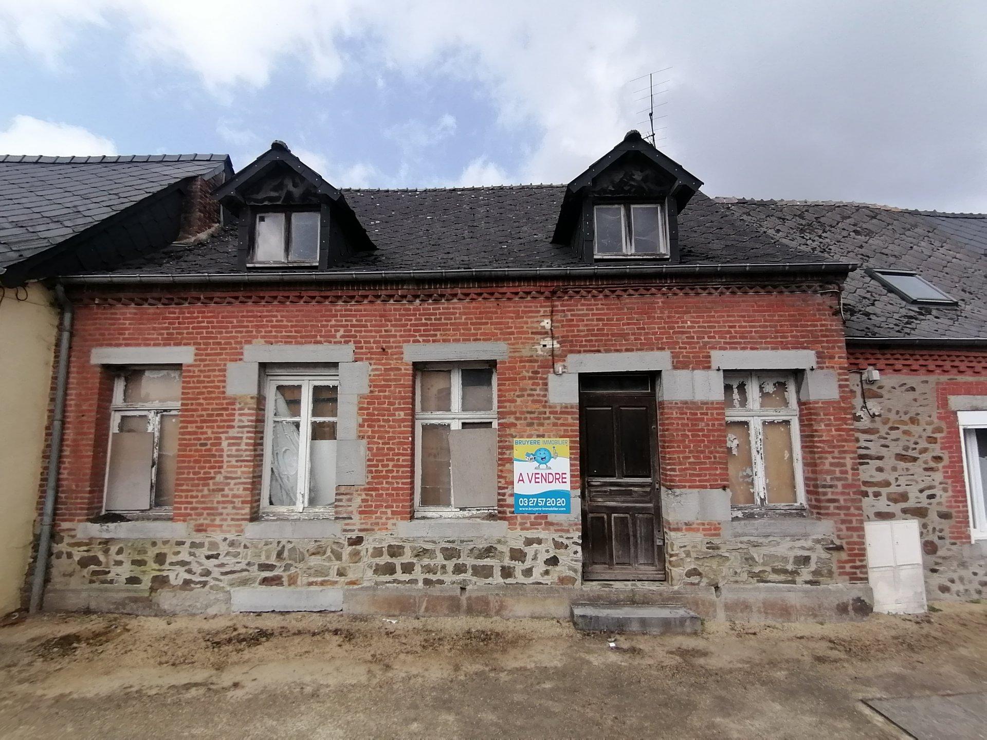 Maison de village à rénover.