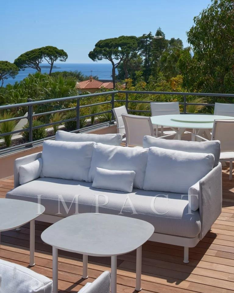 Apartment 3 bedrooms sea view Cannes