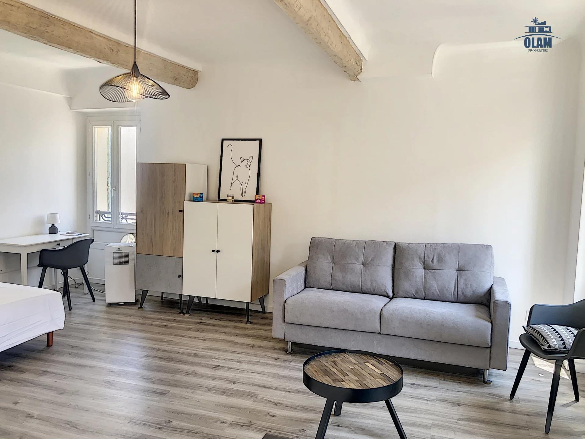 Charming alcove studio - City centre - Building with lift