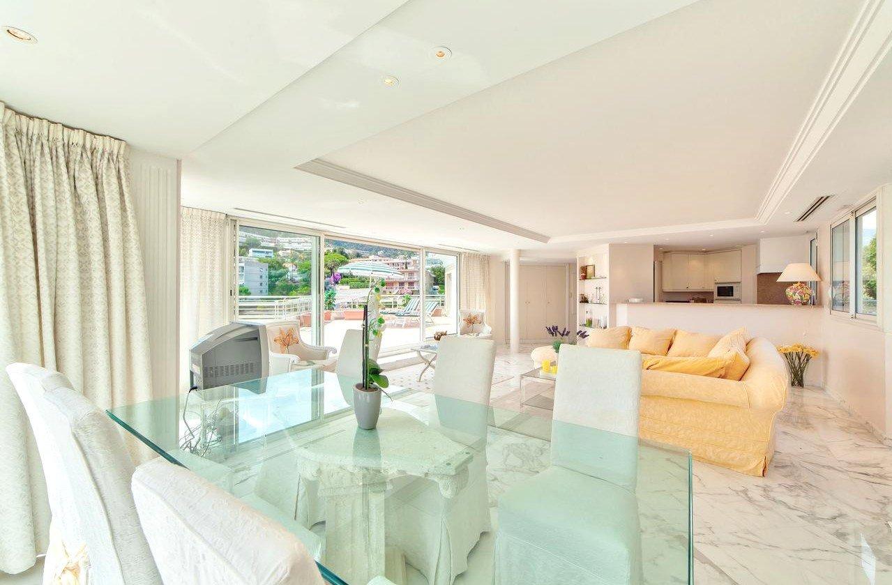 Prestigefullt penthouse med terrass på 150 m² och havsutsikt - Roquebrune-Cap-Martin