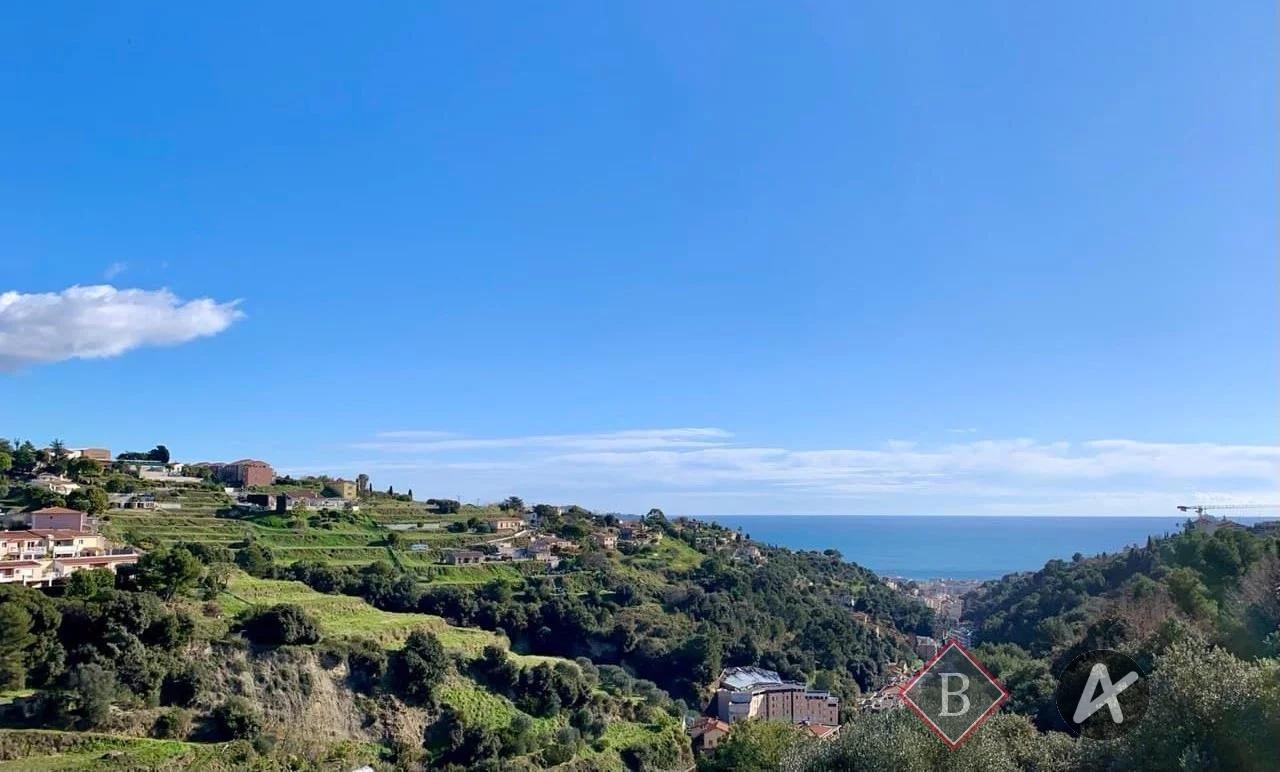 Nice l'Archet - Villa neuve - vue mer
