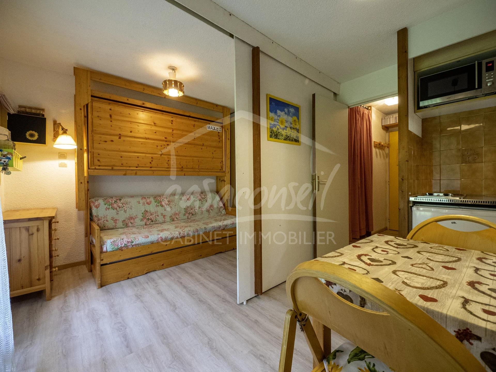 Les Contamines Montjoie- 1 bedroom apartment with terrace