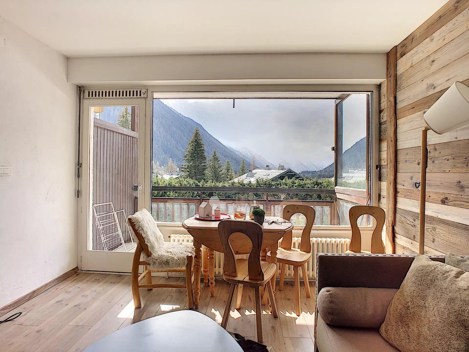 2 bedroom apartment with panoramic view Chamonix Mont-Blanc