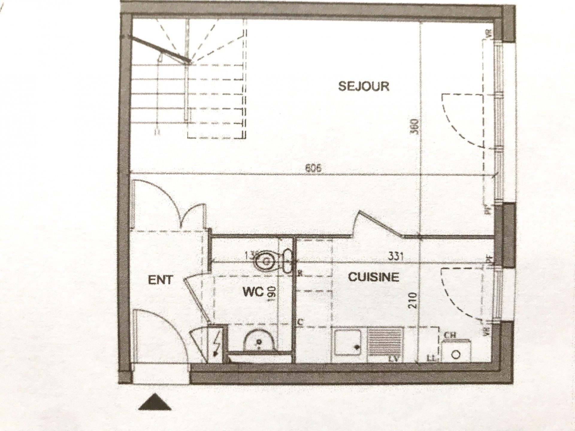 Duplex type maison de ville