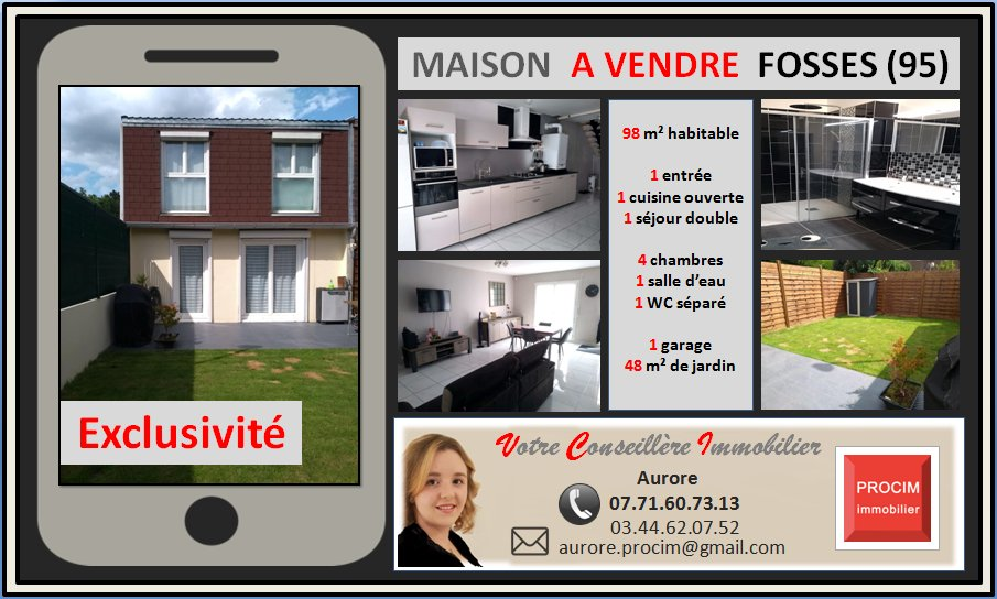 EXCLUSIVITE - MAISON - FOSSES - 263 000 € FAI