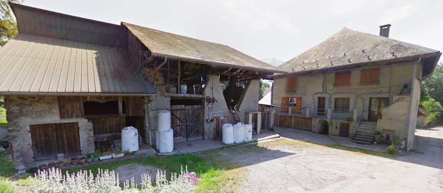 Maison + Grange + terrain