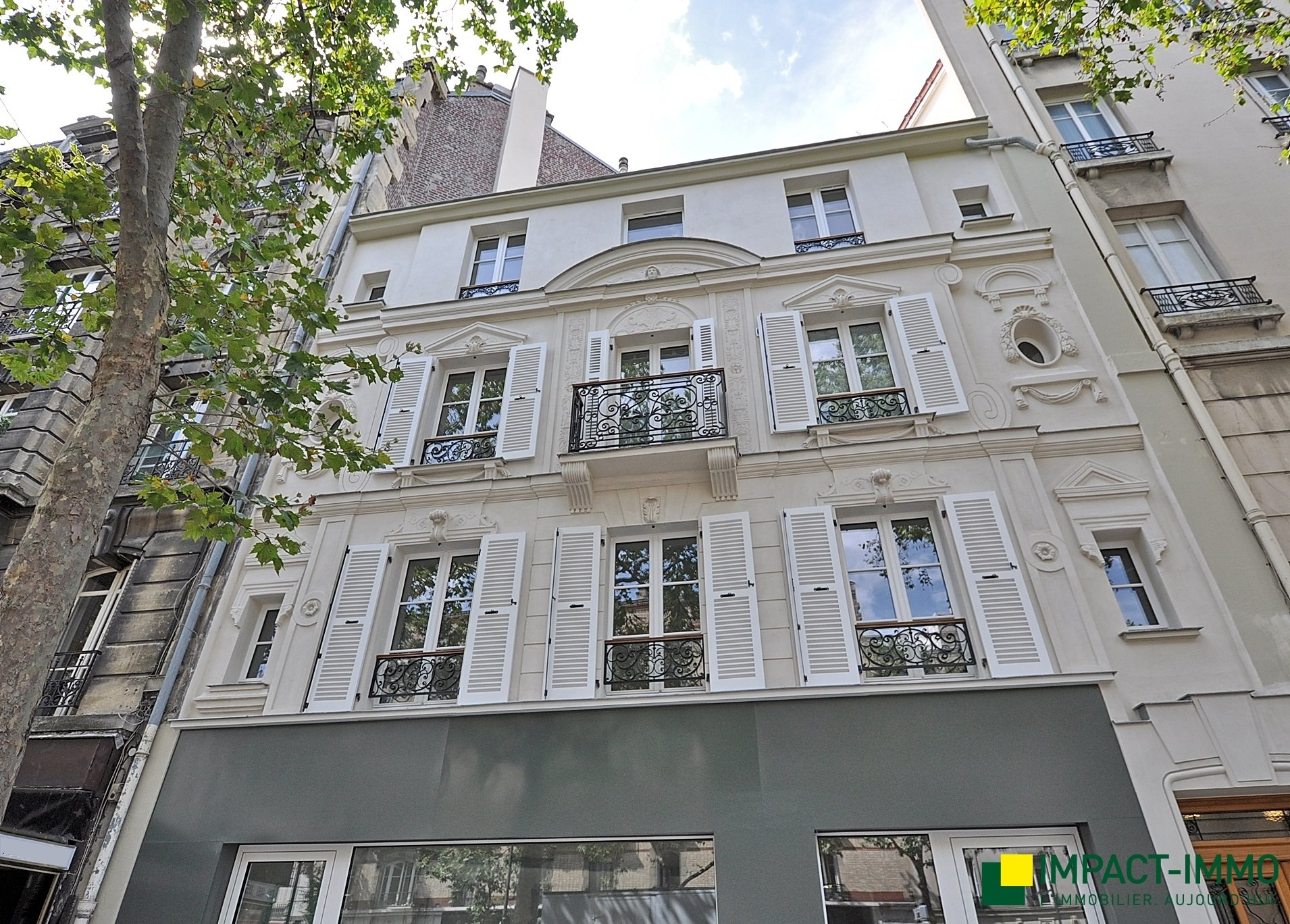2 pièces immeuble neuf - Victor Hugo / Reine
