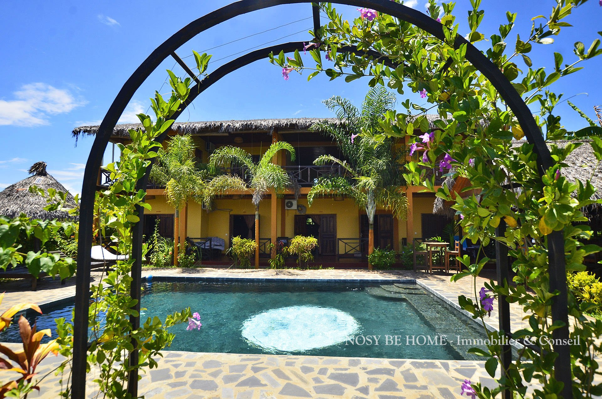 Auberge de charme avec piscine et bungalows