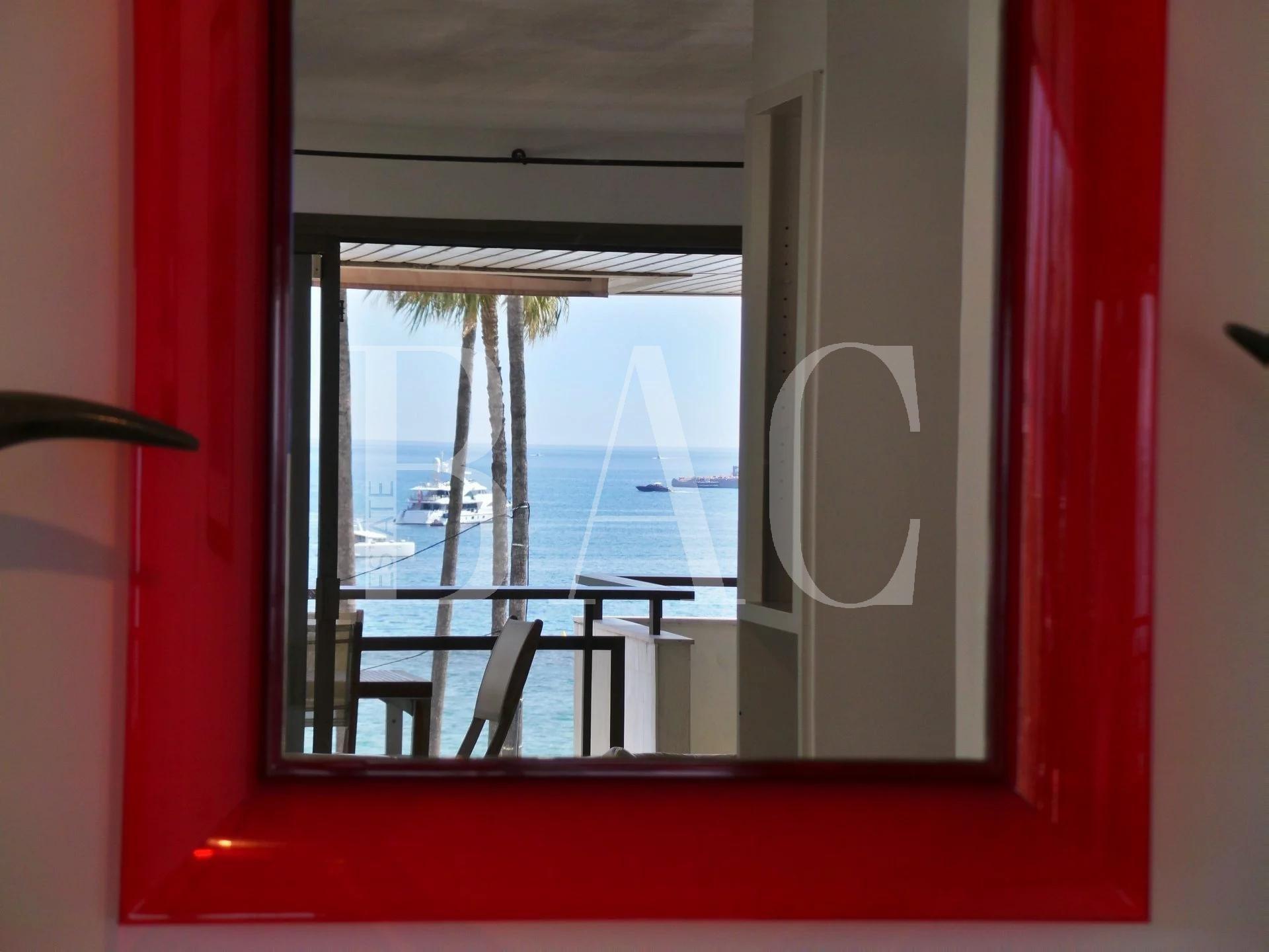 Канны на набережной Круазетт, в нескольких метрах от Дворца фестивалей и с прекрасным видом на море