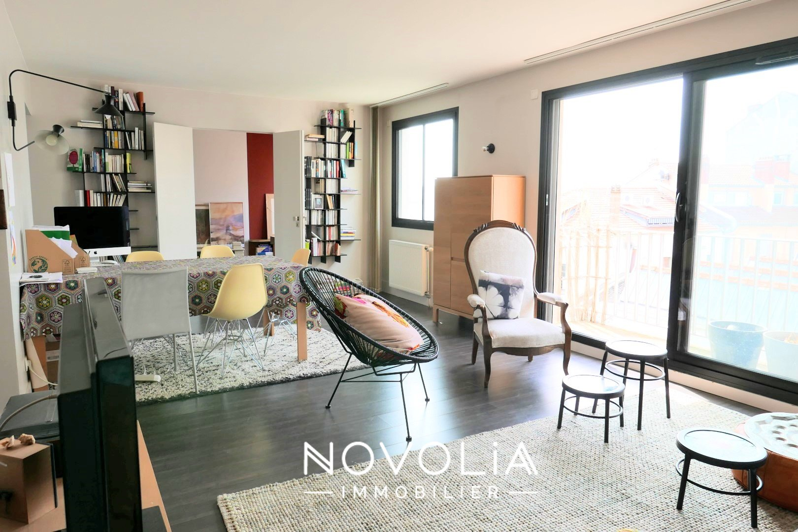 Achat Appartement, Surface de 79.86 m²/ Total carrez : 79 m², 3 pièces, Lyon 7ème (69007)