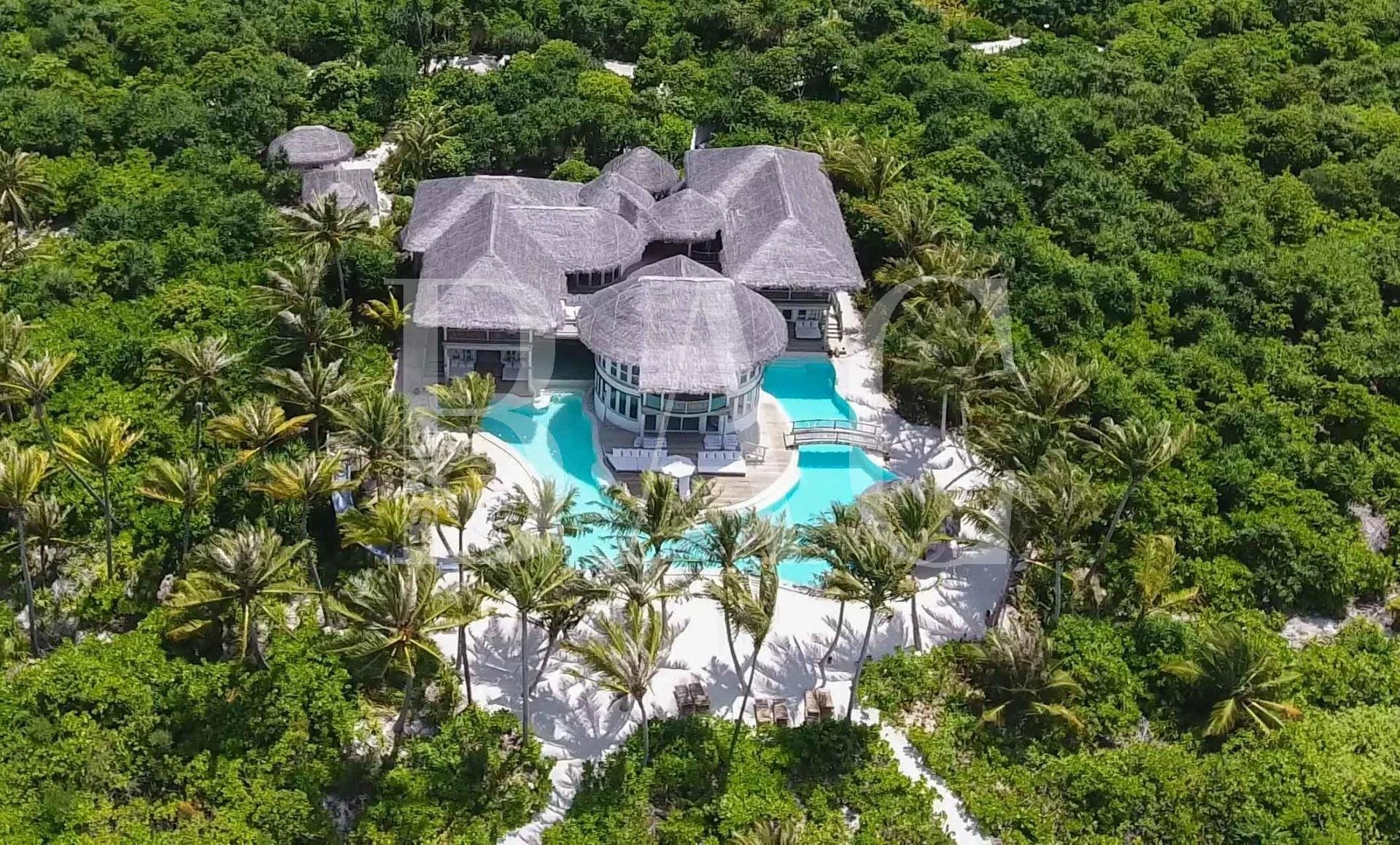 Вилла на острове на Мальдивах