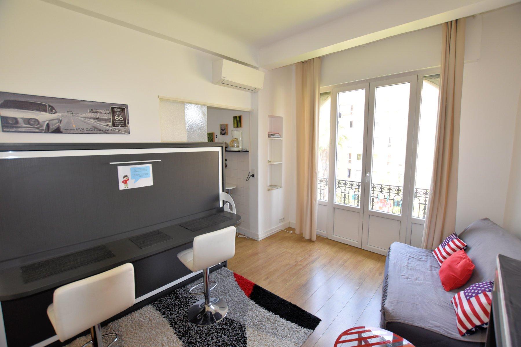 Location étudiante Studio meublé Nice Thiers - Jean Médecin