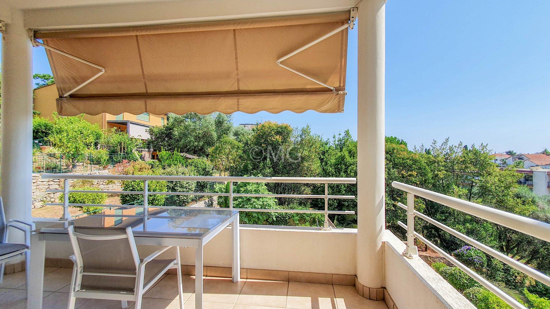 Cannes Petit Juas T3 terrasse