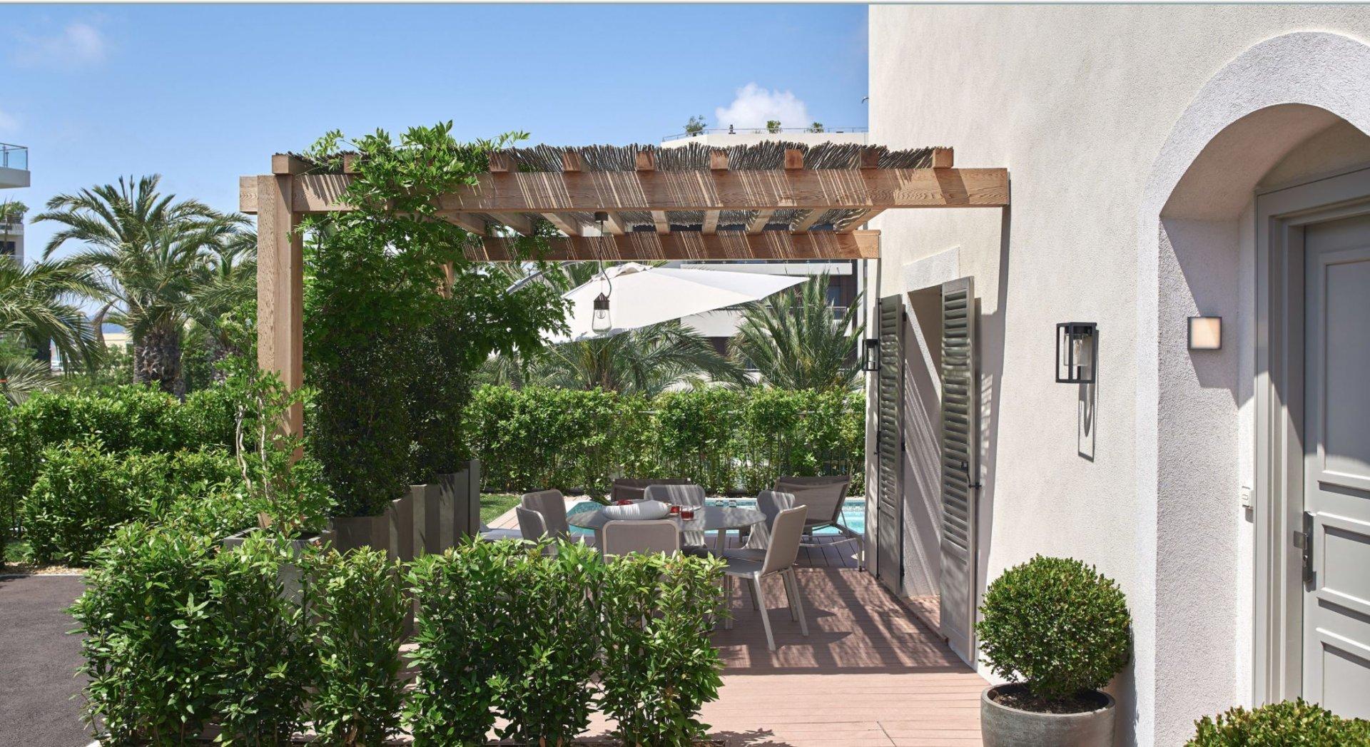 Cap d'Antibes - Nytt townhouse i lukseriøs residens med alle fasiliteter