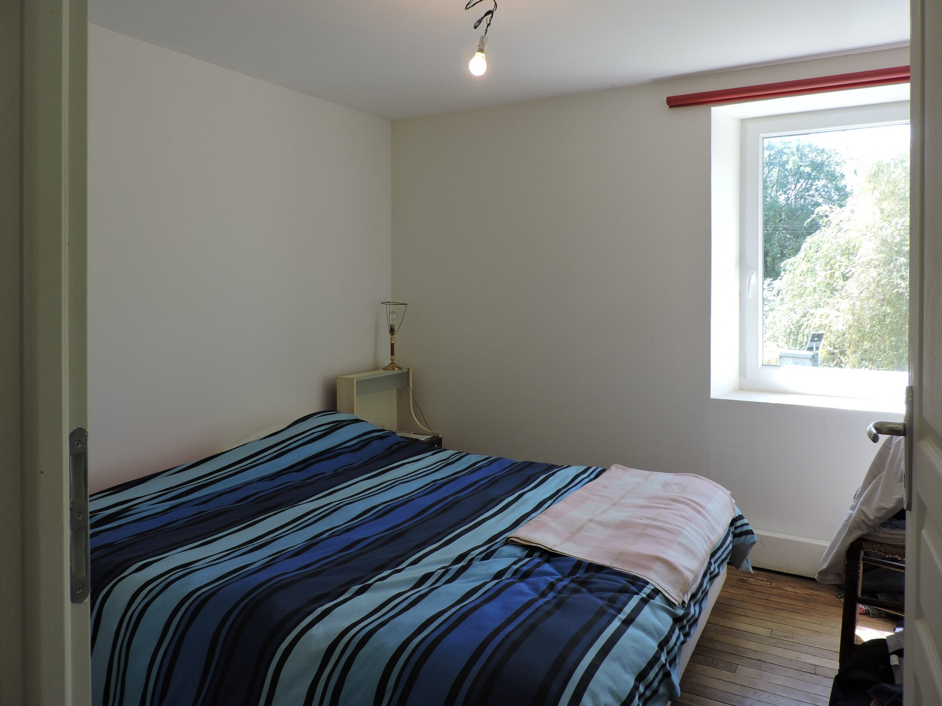 Right wing: Bedroom of the 1st floor flat