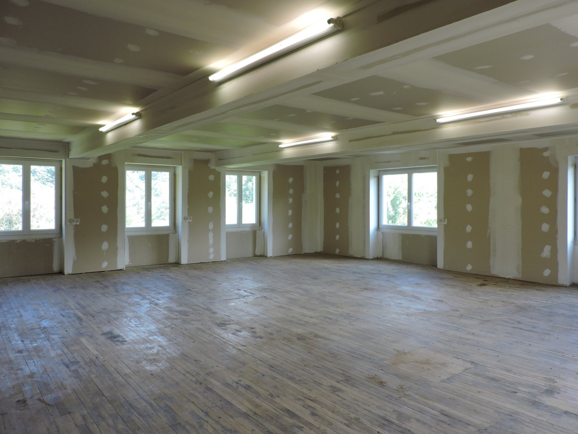 Reception room on the 2nd floor