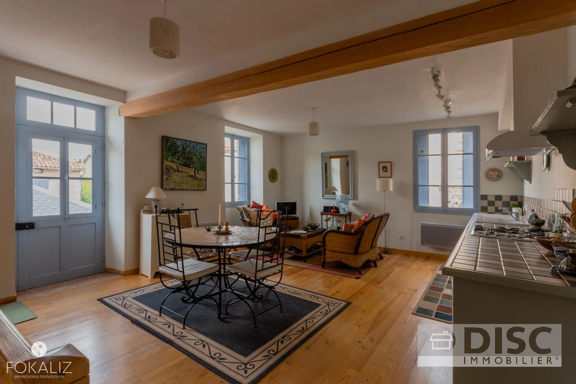 Beautiful village house completely renovated.