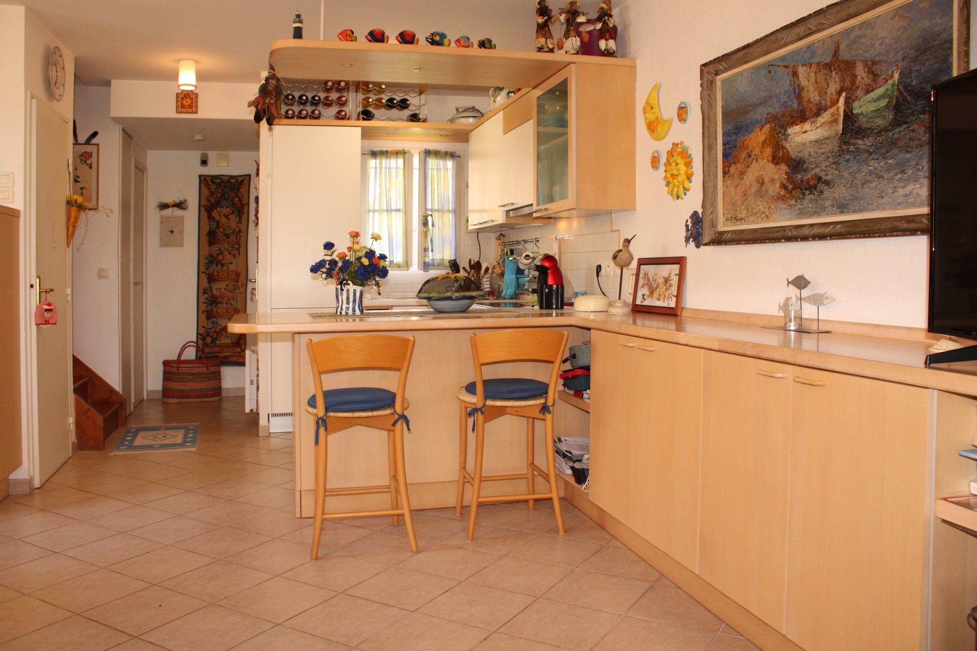 Agréable villa d'angle - 3 pièces sur 2 étages