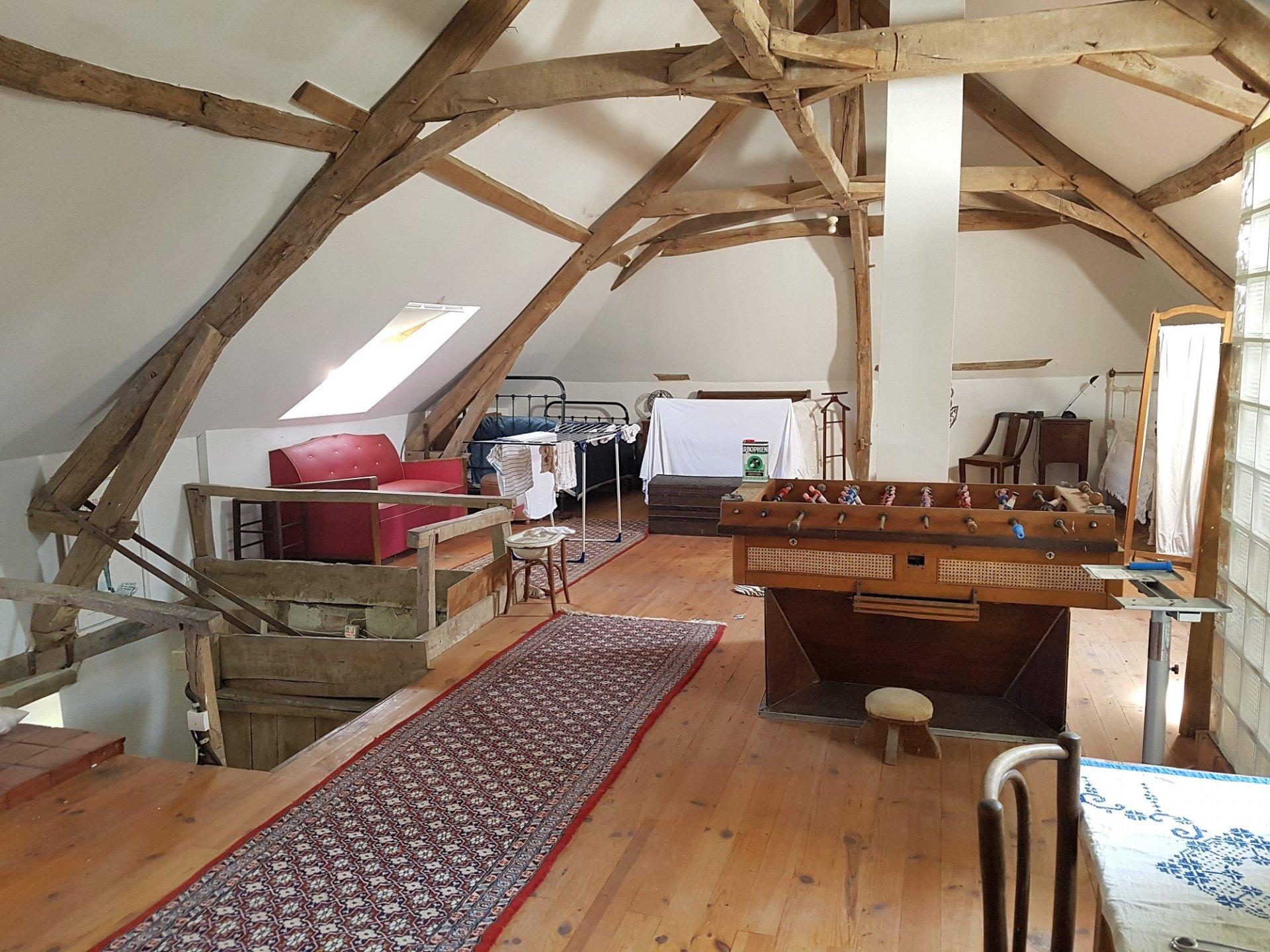 Maison avec grange à vendre dans la Brenne 36 (Prissac)