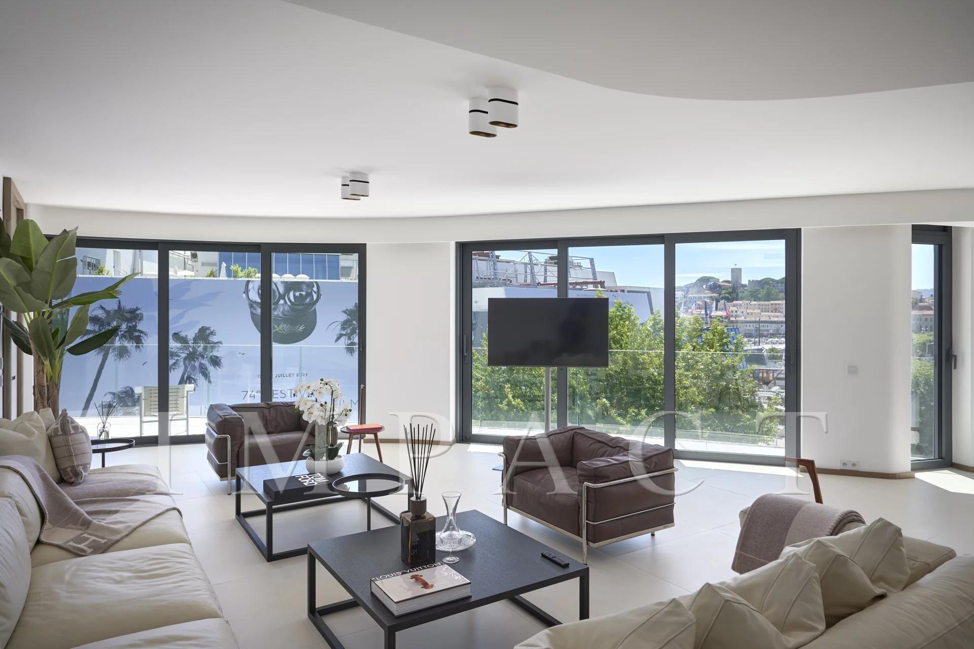 Appartement avec services hôteliers résidence luxe Croisette
