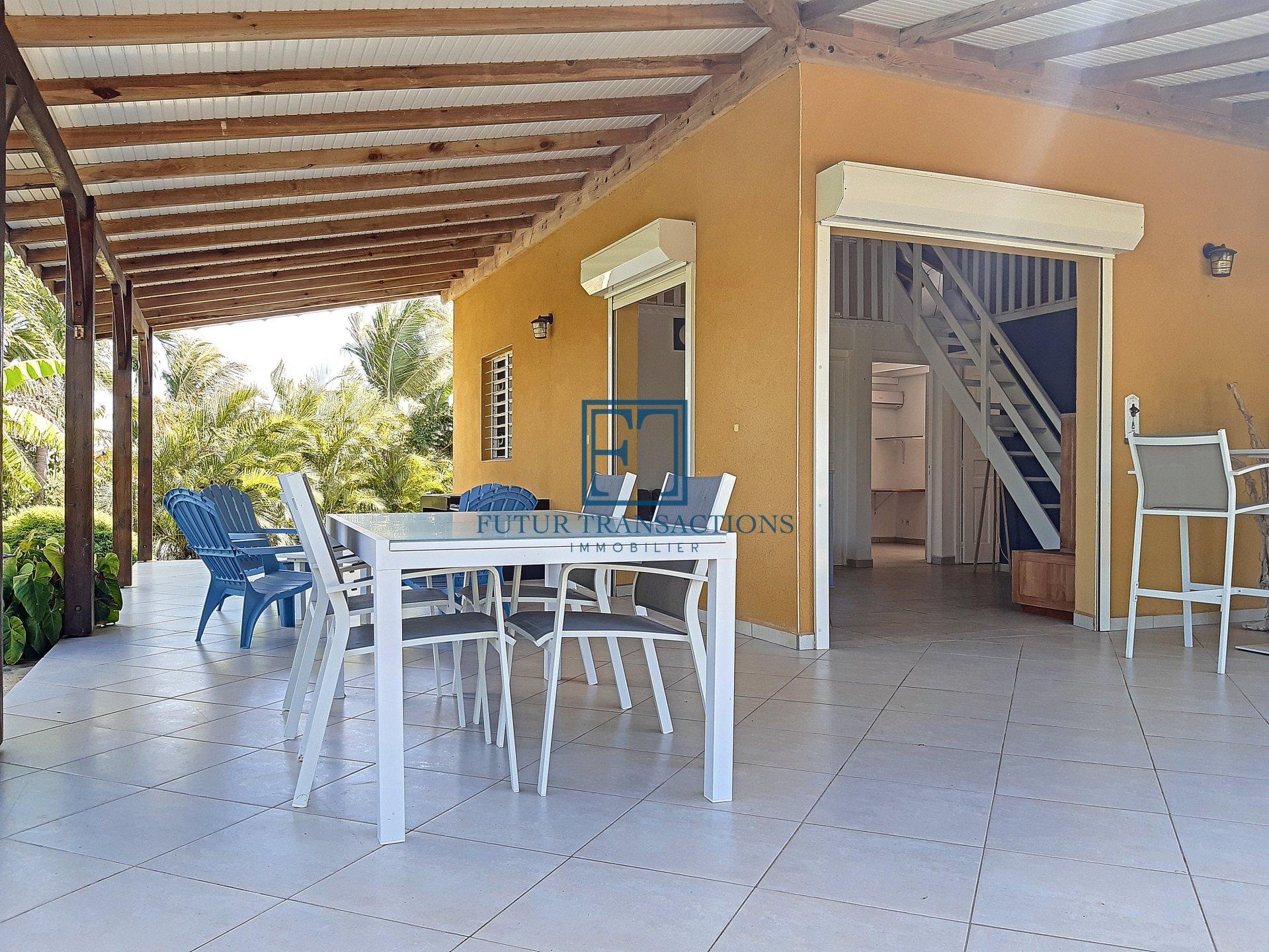 Villa 2 chambres + mezzanine Saint François