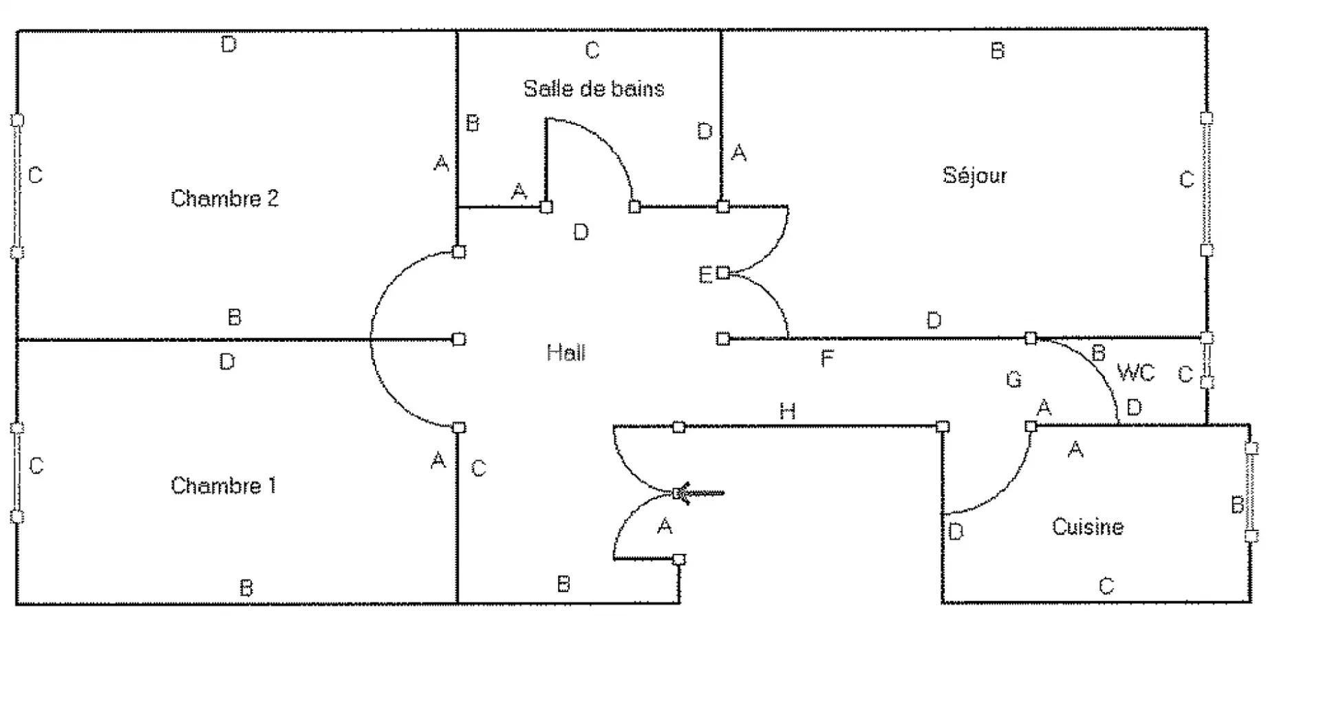 SALE - 2 BEDROOMS FLAT NICE AVENUE DES FLEURS